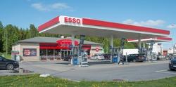 Esso bensinstasjon Hytteveien Vestby