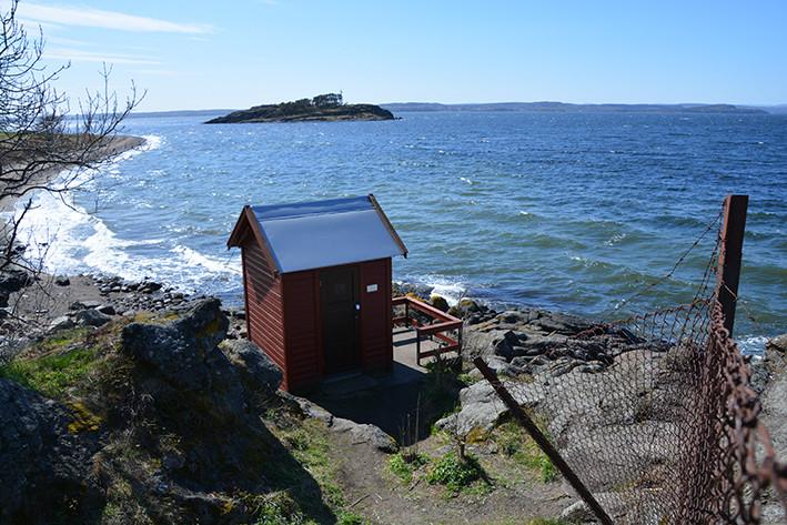 Jeløy sjøkabelhus ved Tronvik: Huset ble benyttet til inntak for sjøkablene over Oslofjorden, Jeløya - Horten. Begge kablene er bevart, men huset på Hortensiden er revet. Tronvik sjøkabelhus ligger vakkert til og er påbygd med en liten veranda.