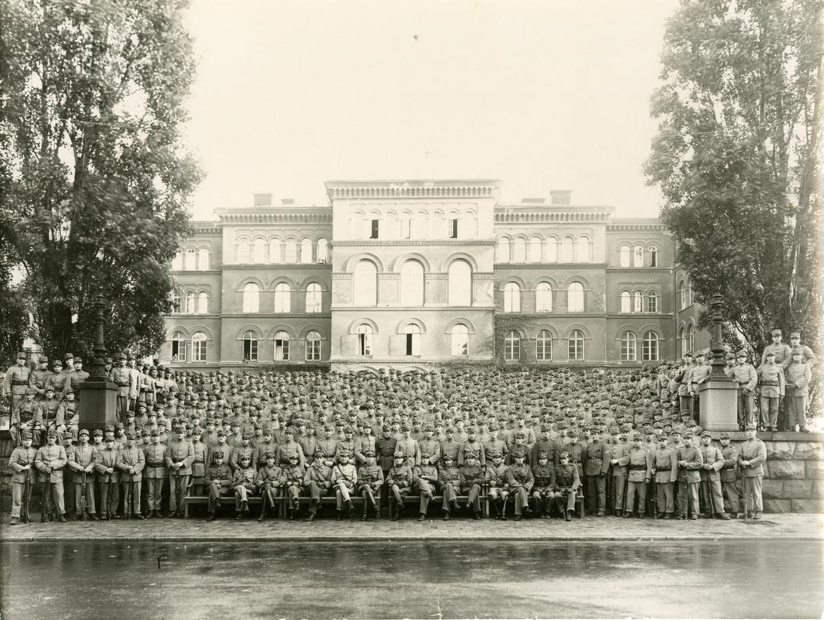 Grupporträtt av Göta livgarde I 2, 1930-tal.