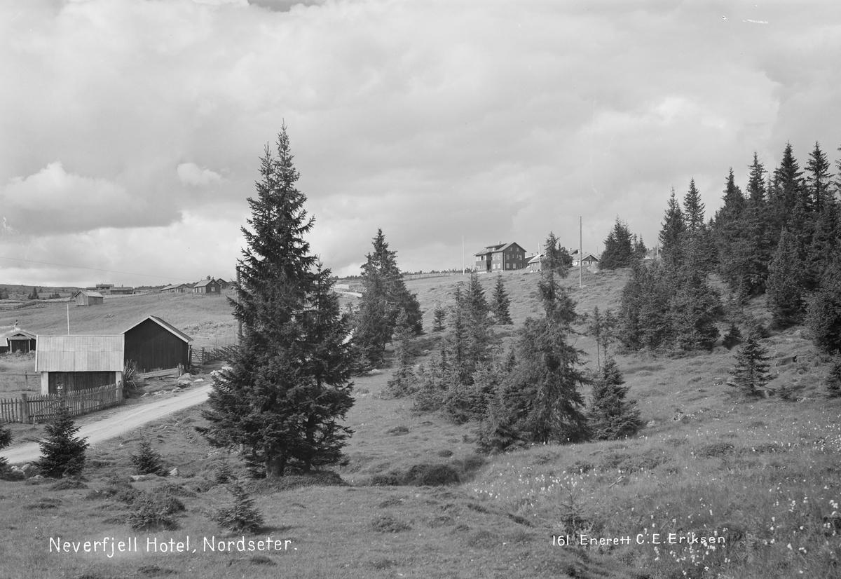 Neverfjell hotell på Nordseter.