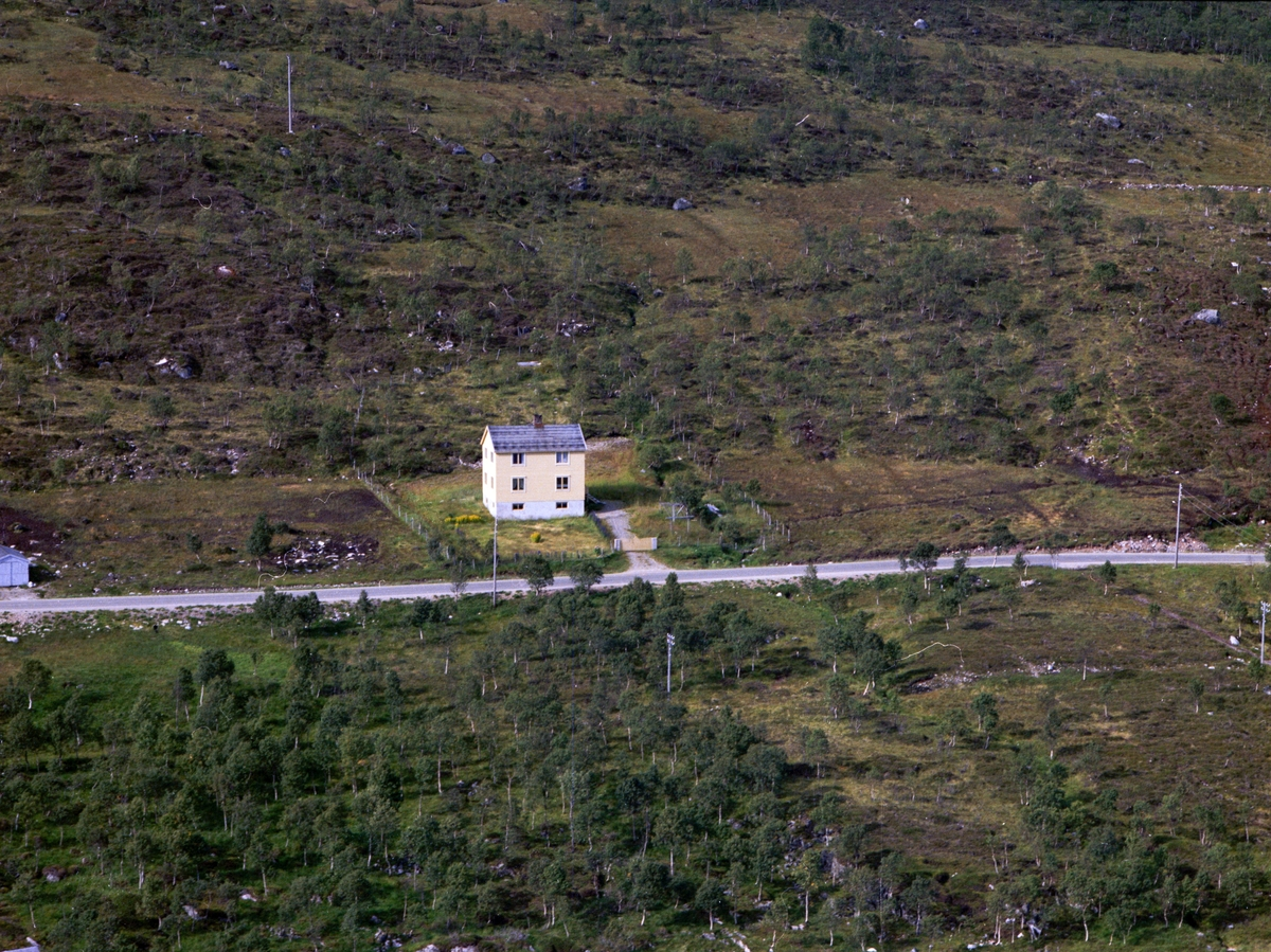 Flyfoto fra Nytun i Gullesfjord.
