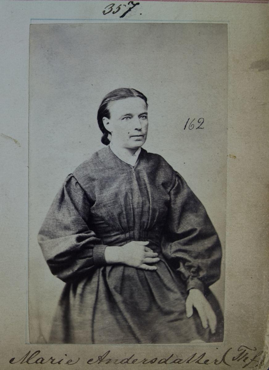 Fangeportrett, Marie Andersdatter