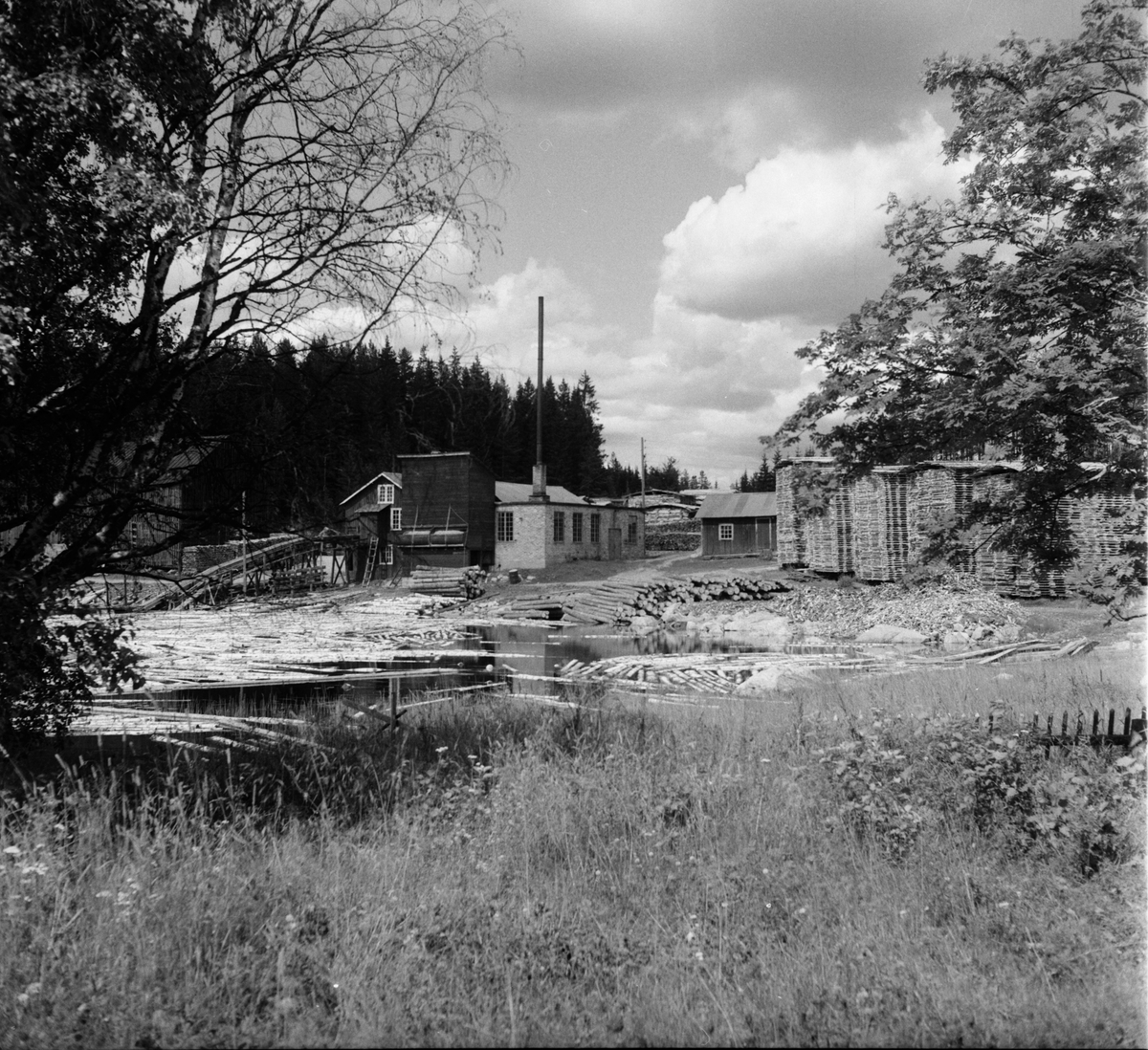 Mållångstad, Gullberg, Konsum 20 Juli 1960