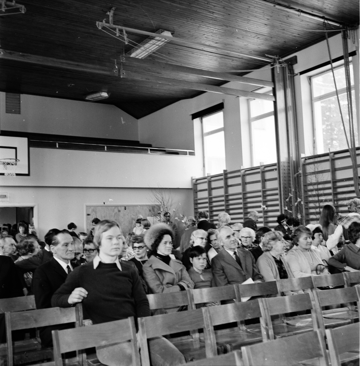 Lutherhjälpens öppet hus på Nytorp, 11 Mars 1973