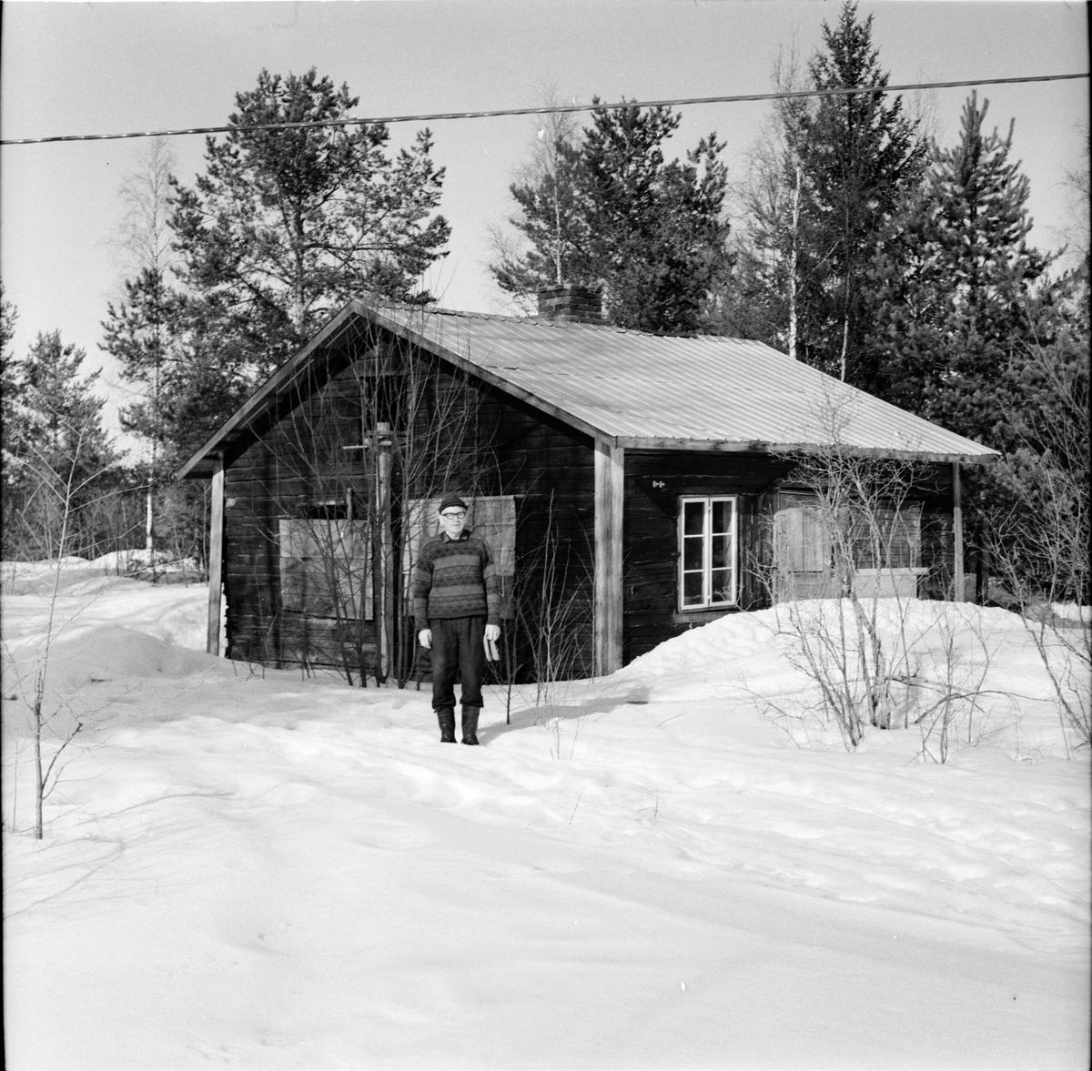 Undersvik, Tomt i Offerberg, Kraftverket, Mars 1969