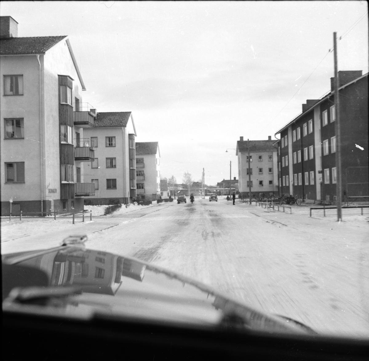 Gärdesgatan i Bollnäs.