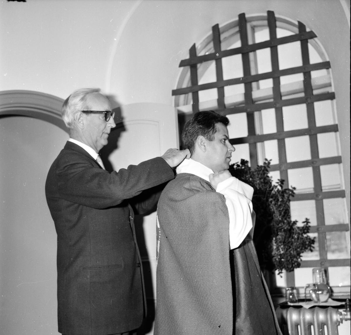 Backman Olle, Avskedspredikar, 5 December 1965