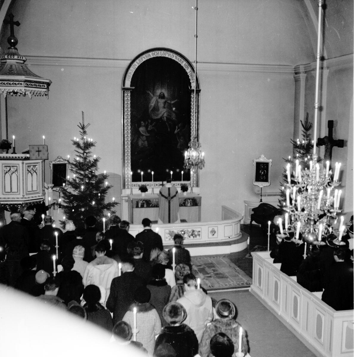 Undersvik, Julottan, Ny alba, Söndagsskolavslutning, 1969