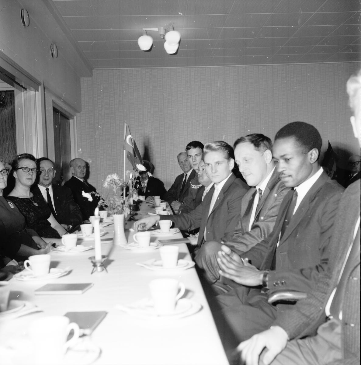 Nd isi James AO, Stud fr. Kenya på Godt.lok. 28 Nov 1965