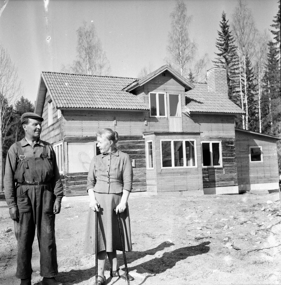 Rygge. Makarna Matilda och Per Blom Enar Jacobson 6/5-1965