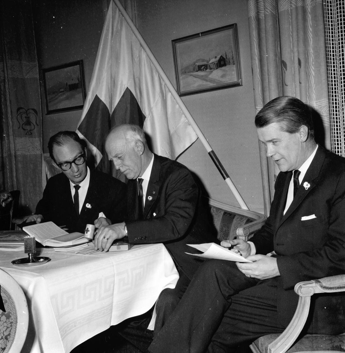 Röda Korsets årsmöte. 5/3-1965