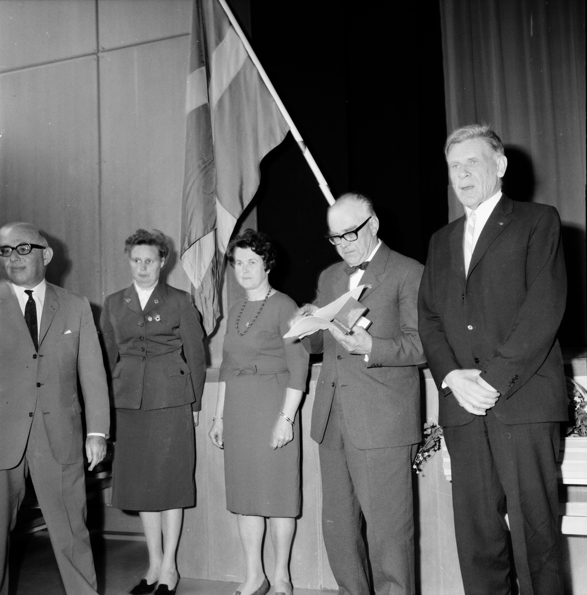 Röda Korsets distriktsårsmöte Bollnäs. 13/5-1966