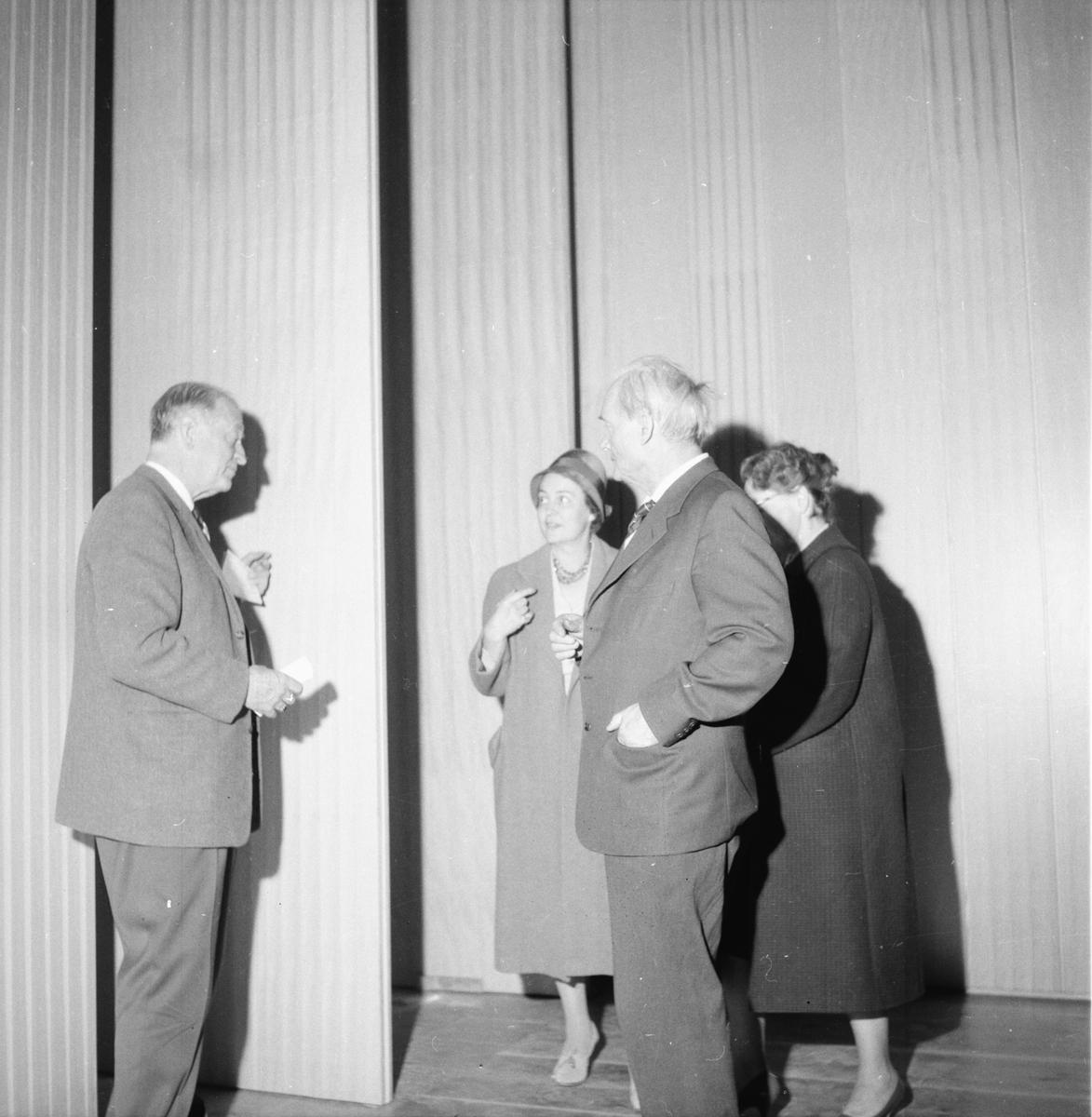 Silvanum, Gävle 8 okt. 1960