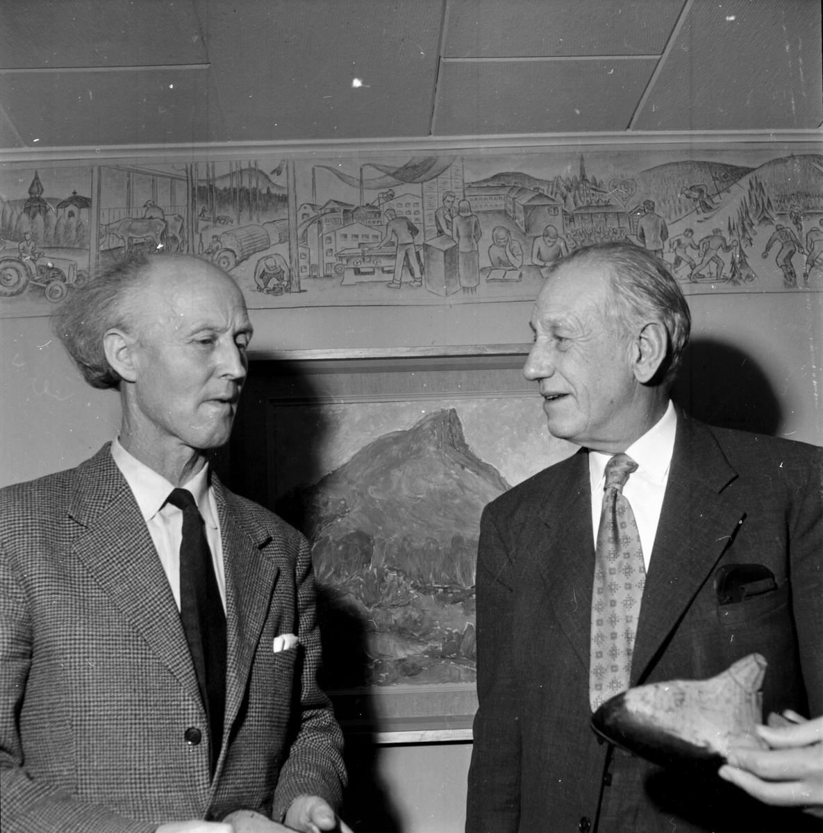 Clahr,Emil,Konstnär Edsbyn 3 jan 1960