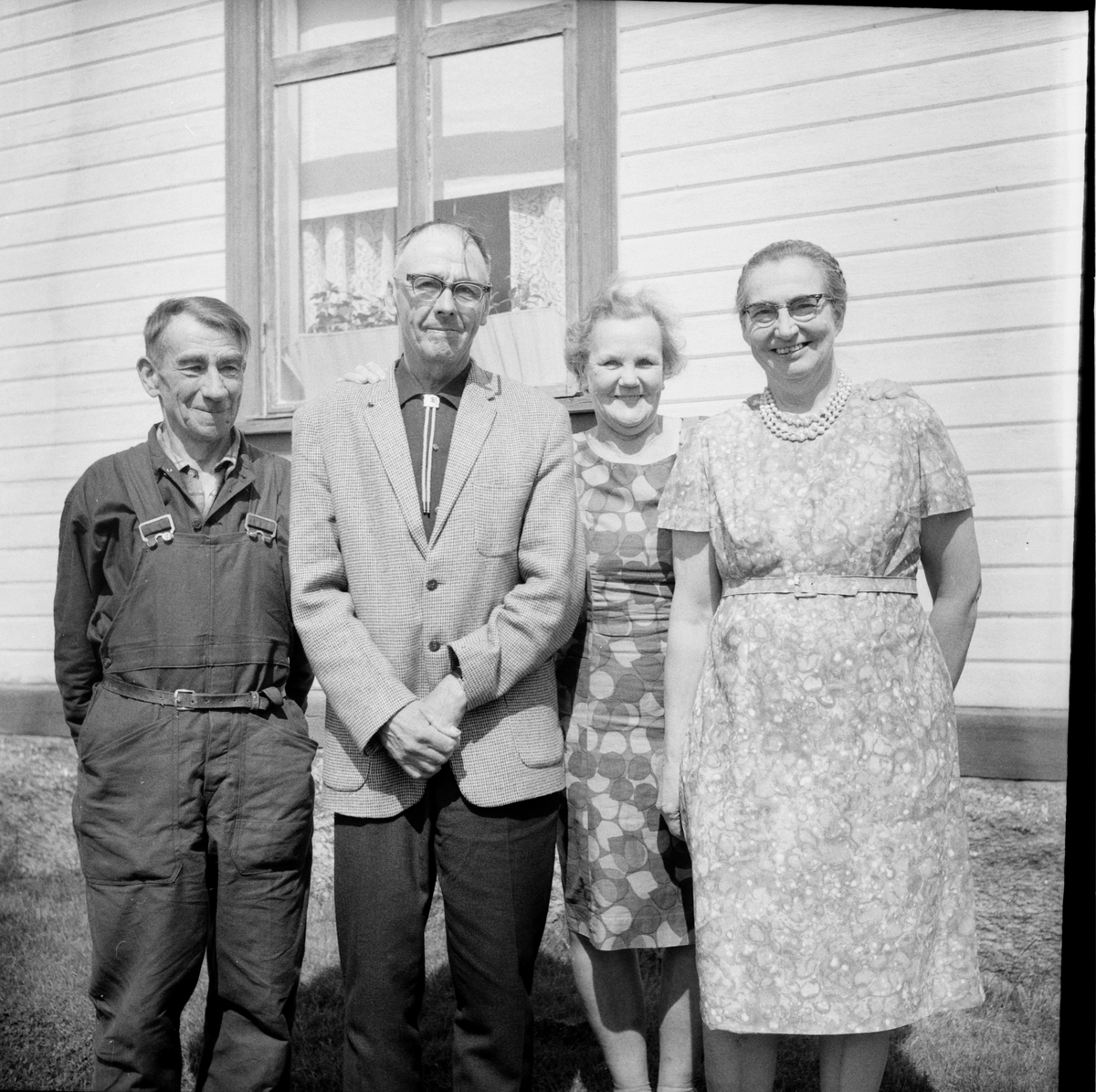 Kållänges i Kilen amerikabesök. 9/6-1967