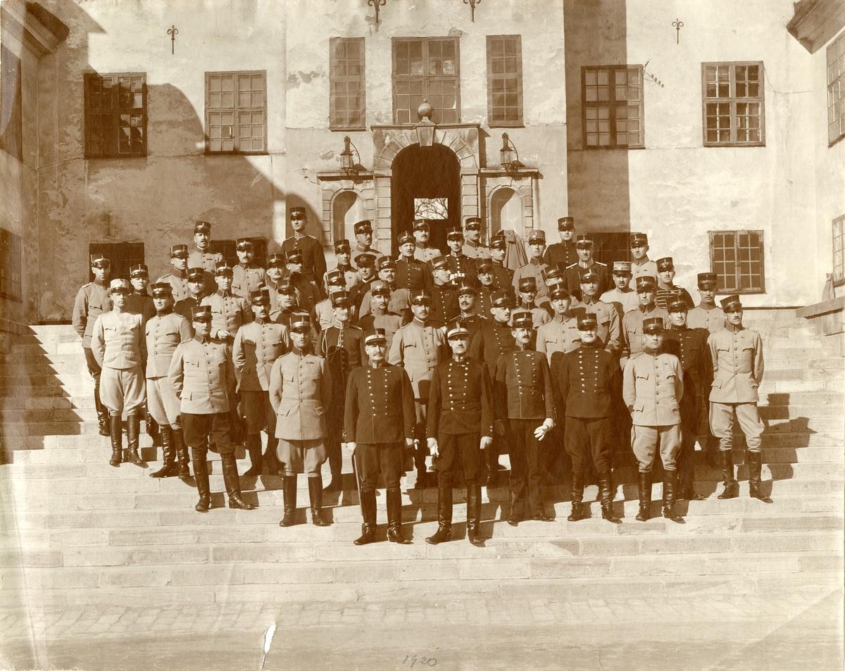 Taktiska kursen februari-mars 1920, Karlberg.