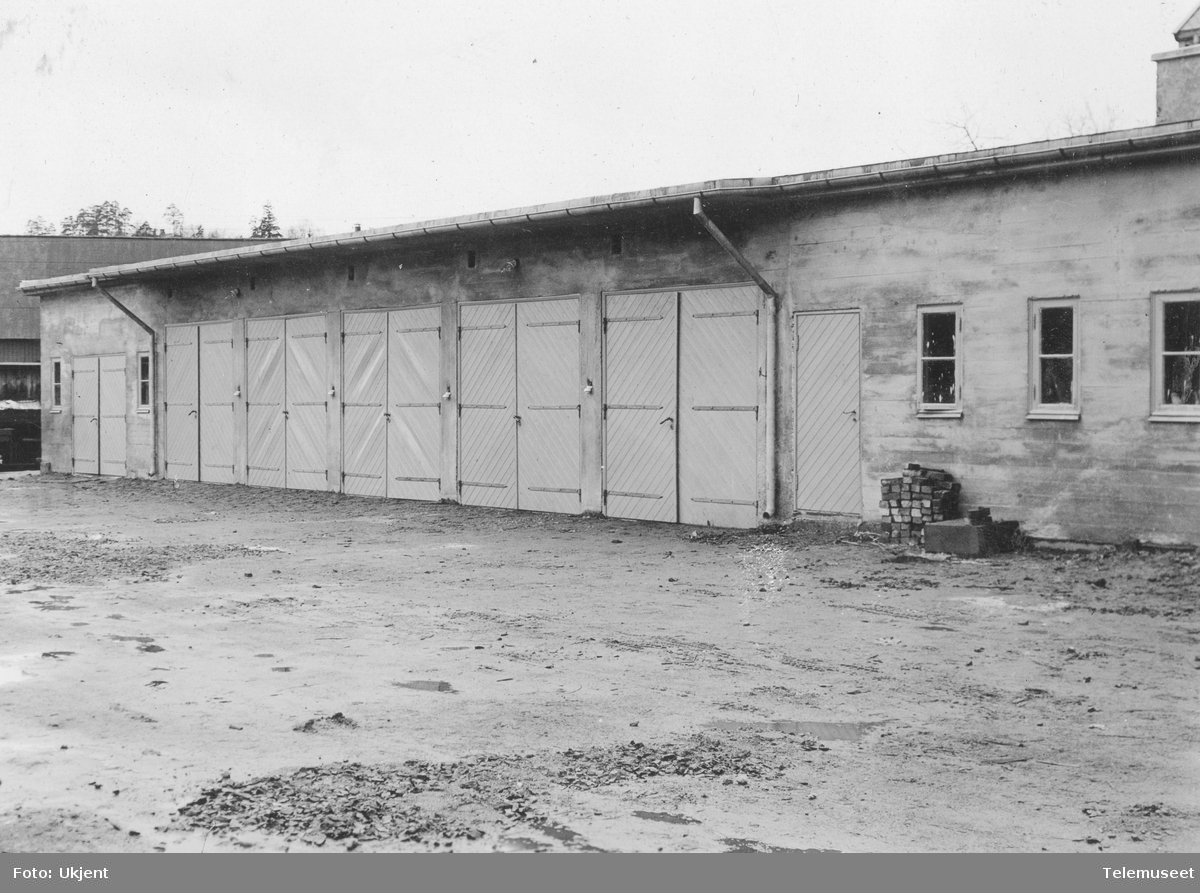 Verksted og garasjebygning på Skøyen