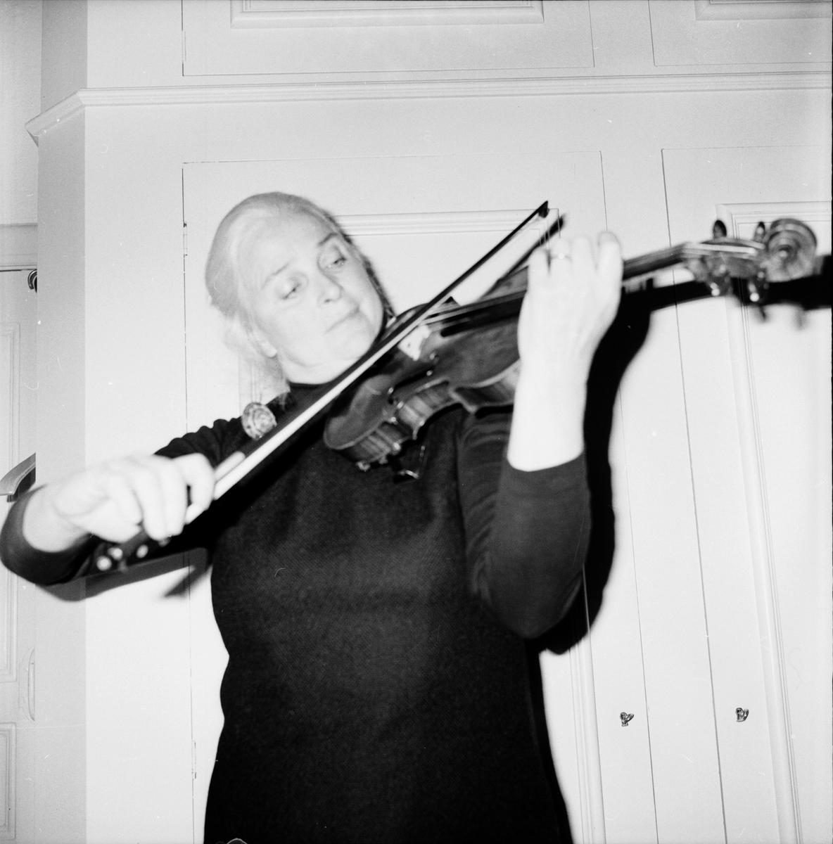 Undersvik, Konsert i kyrkan, Gävle Heliga Tref. Symfoniker, 22 Sept 1972