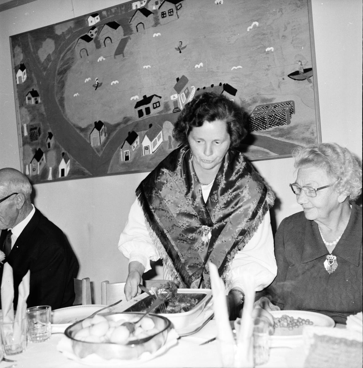 De gamlas dag i Undersvik. September 1972