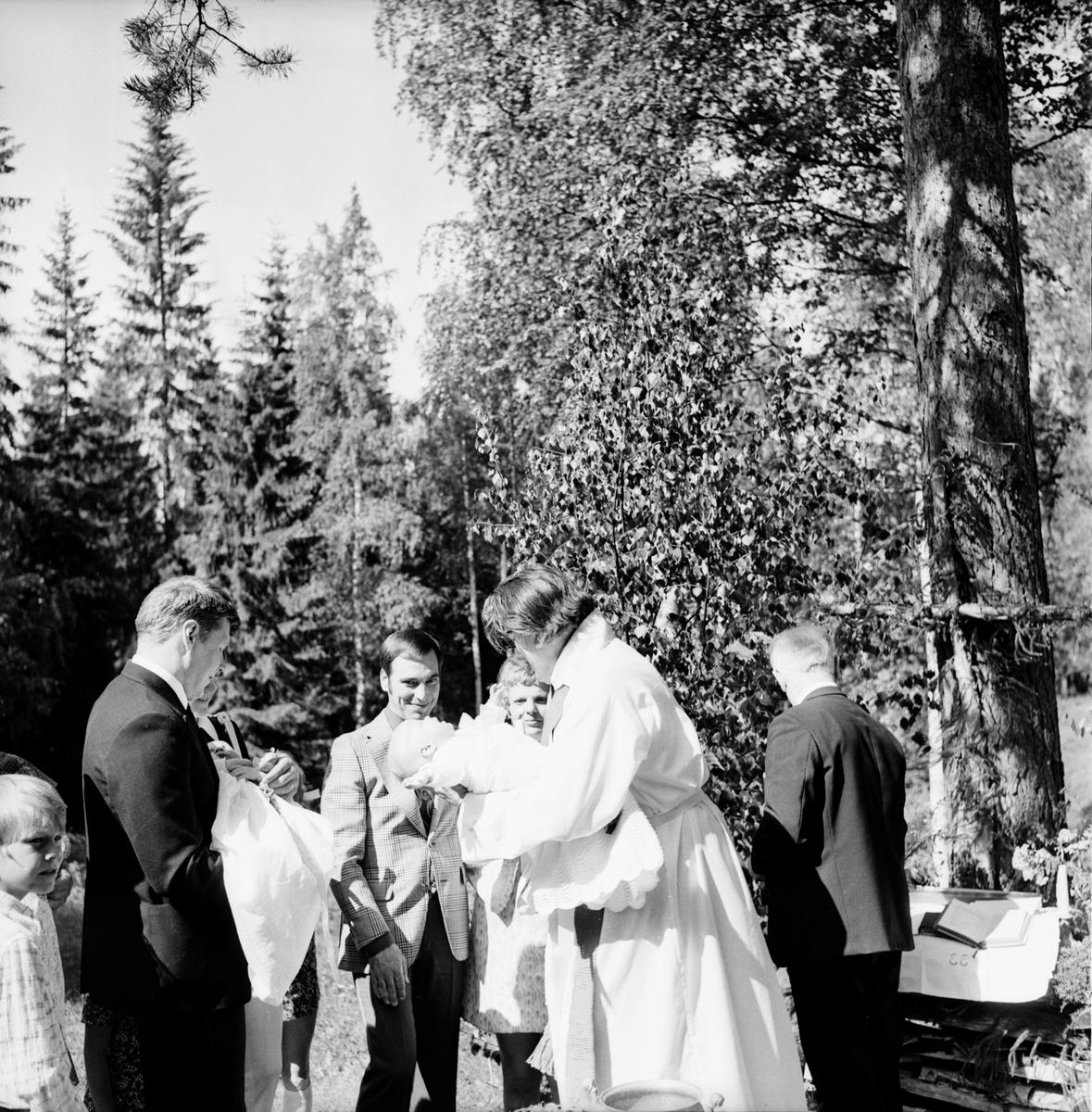Änga-Nybo Dopdudstjänst. Juni 1972