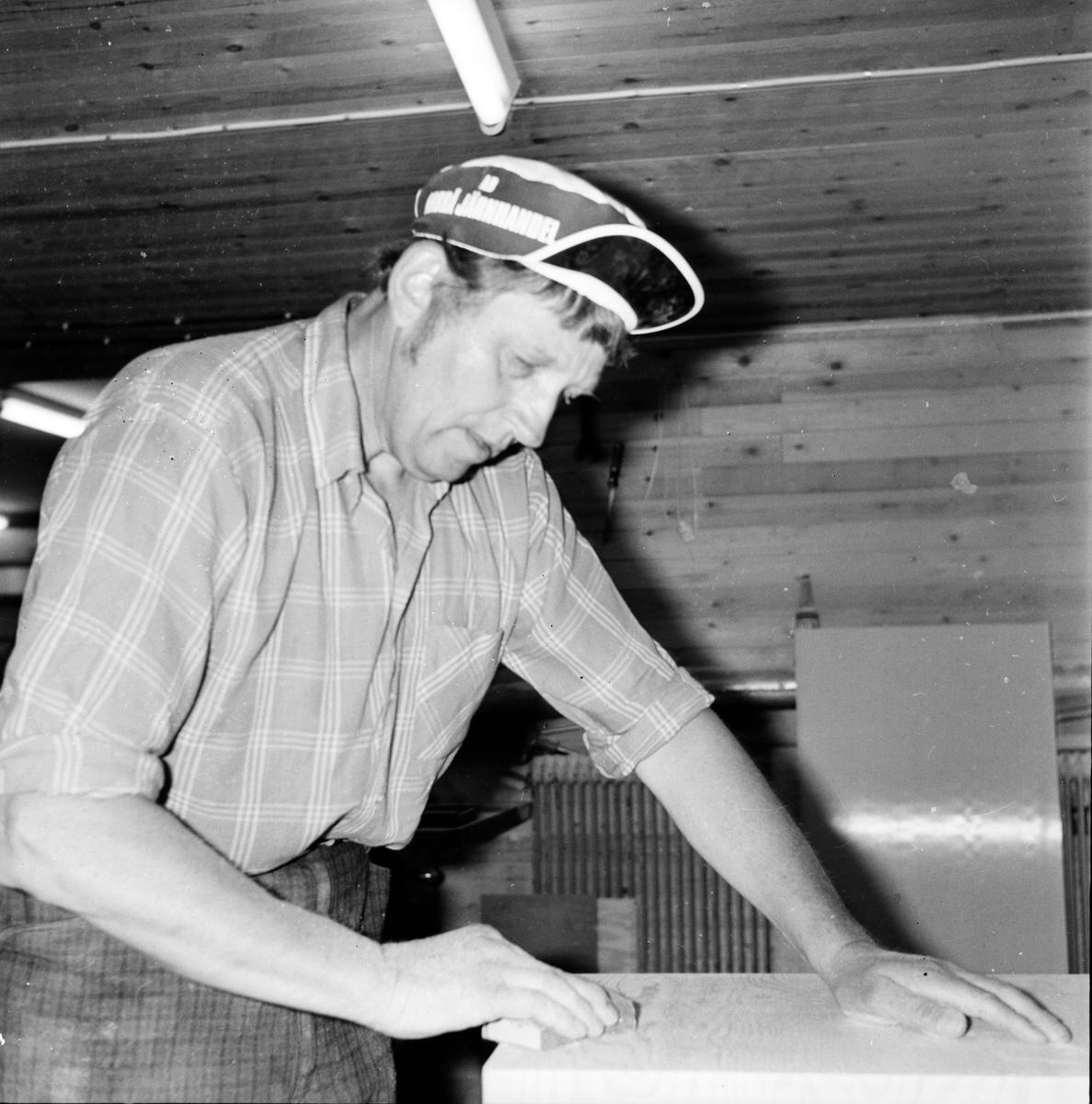Träförädling Bertil Eriksson Flästa Juli 1972