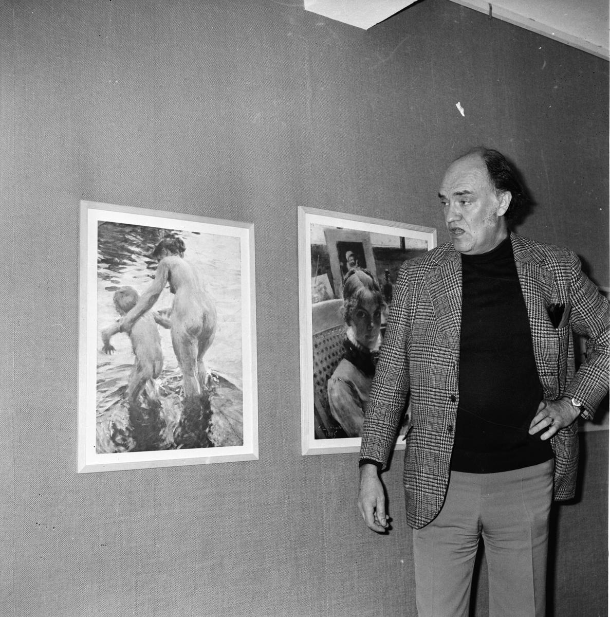 Konst i centralskolan i Arbrå Intendent Gevius Juli 1972