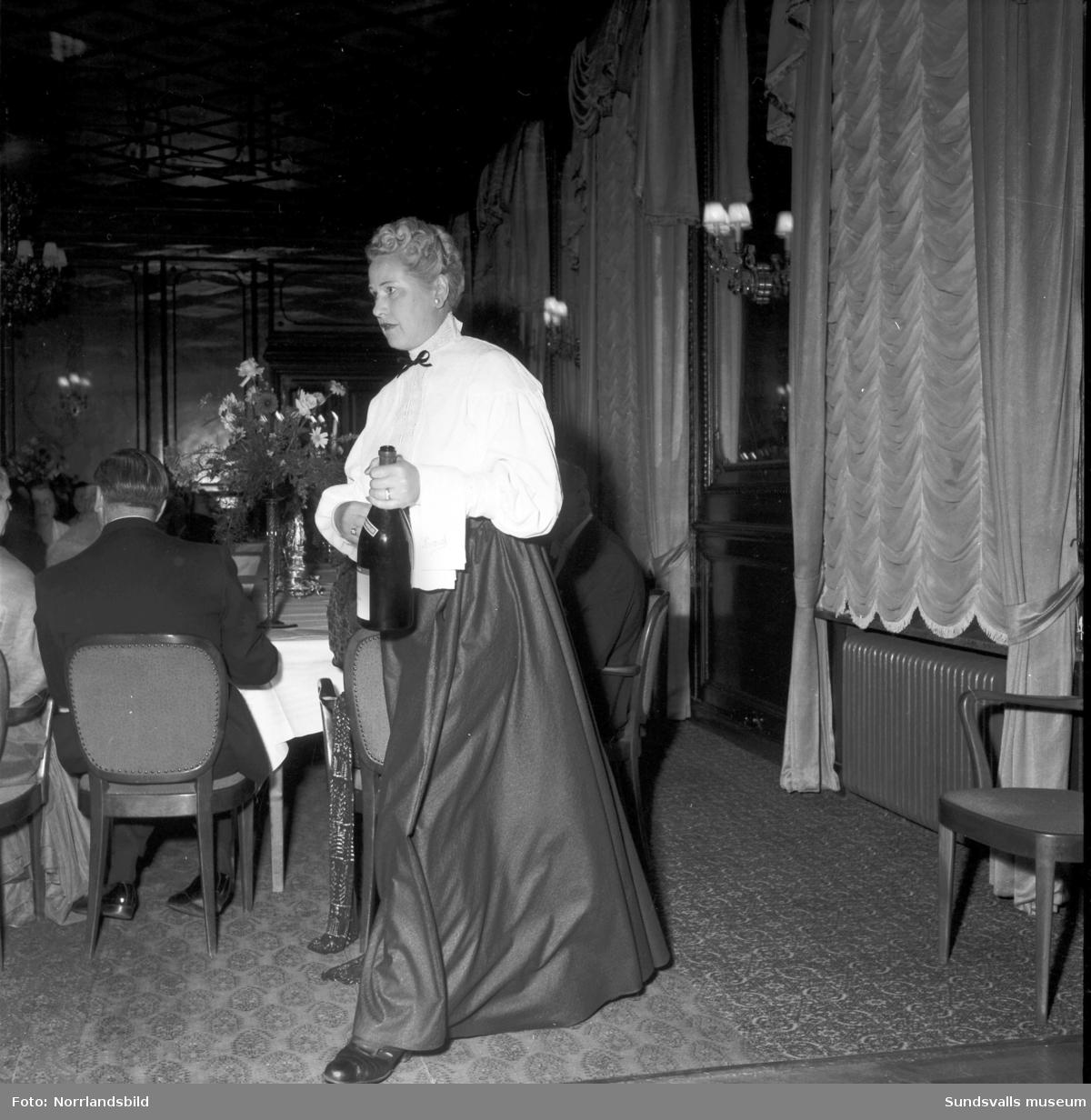 Hotell- och Restaurangföreningens fest på Knaust.