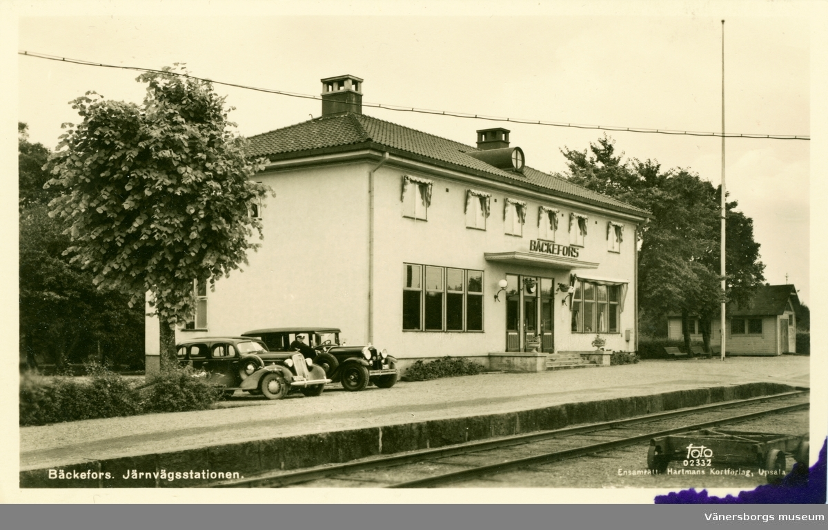 Bäckefors Järnvägsstation