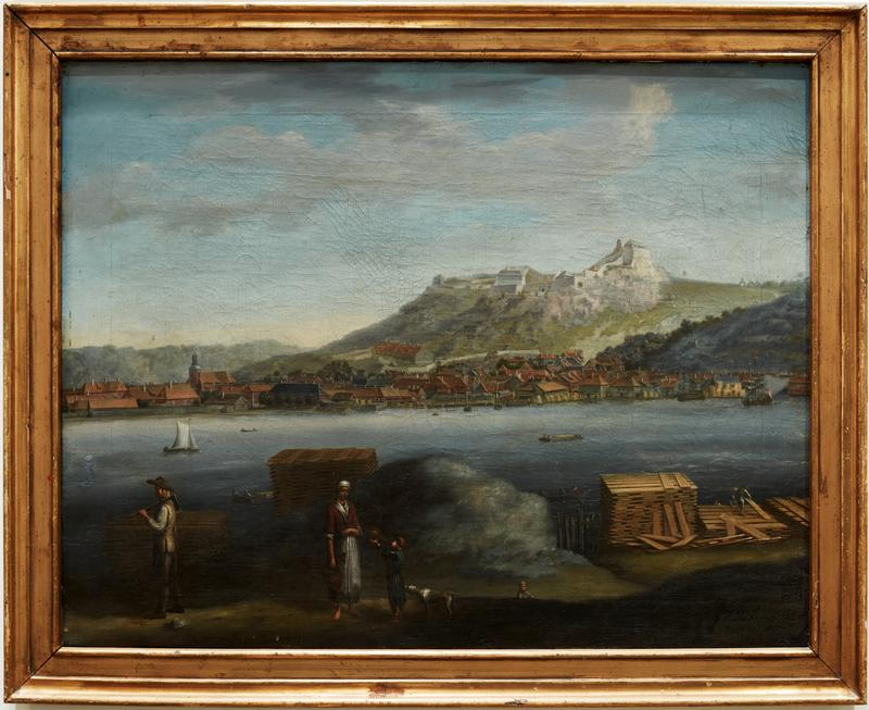 Utsikt over Halden, 1746. (Foto/Photo)