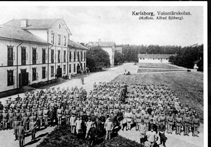 Karlsborg. Volontärskolan.