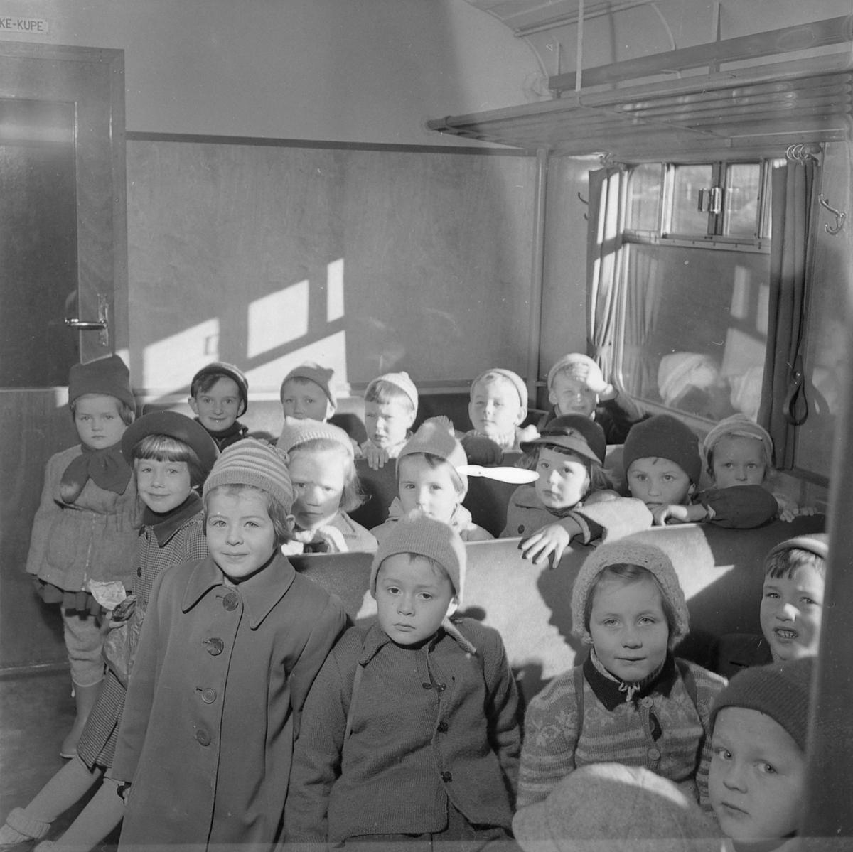 Bakklandet menighets barnehage på tur til Melhus
