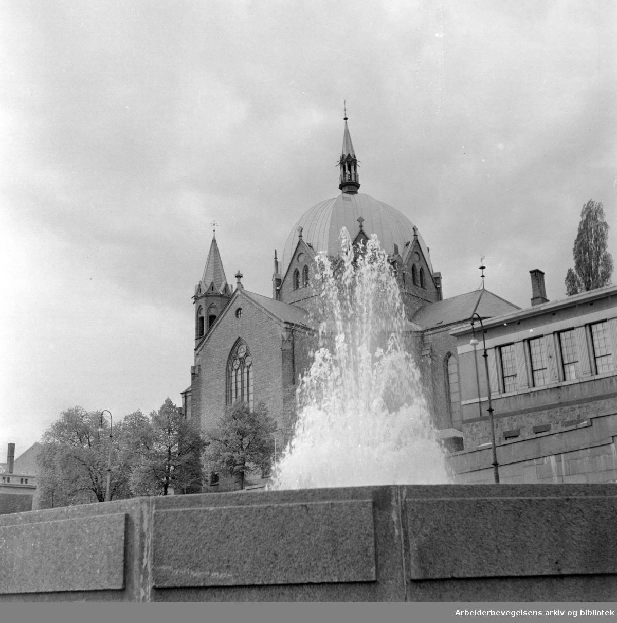 Trefoldighetskirken. Juni 1966