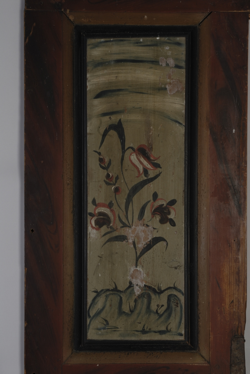 Form: dør og sidestykker rokokko