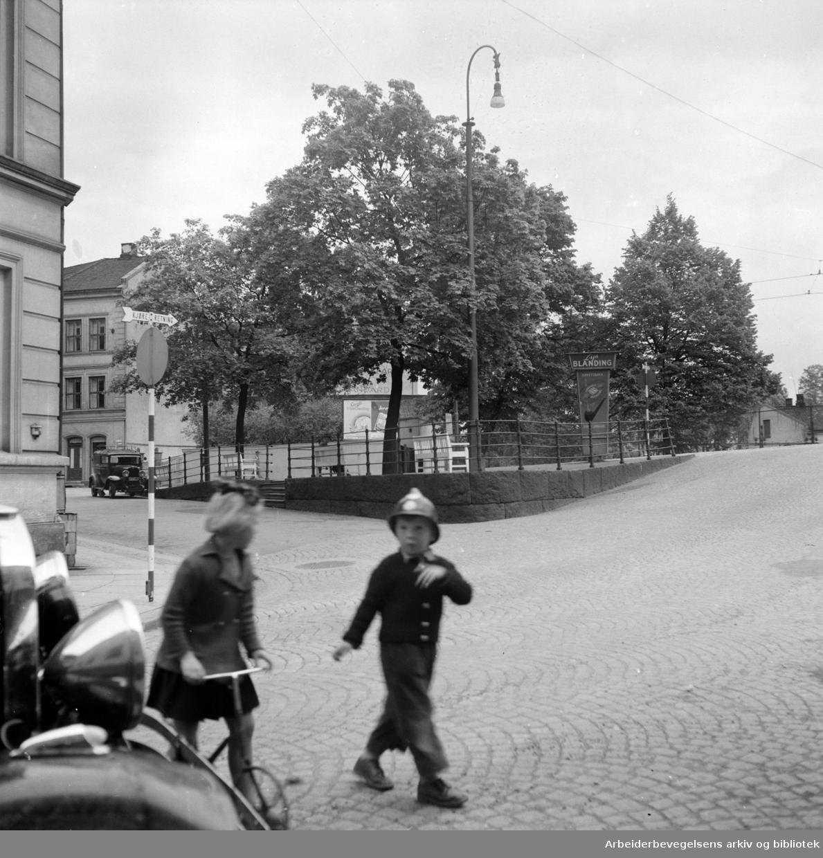 Saxegaardsgata. Juni 1953