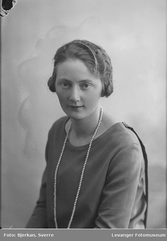 Portrett av Kristin Bjerve