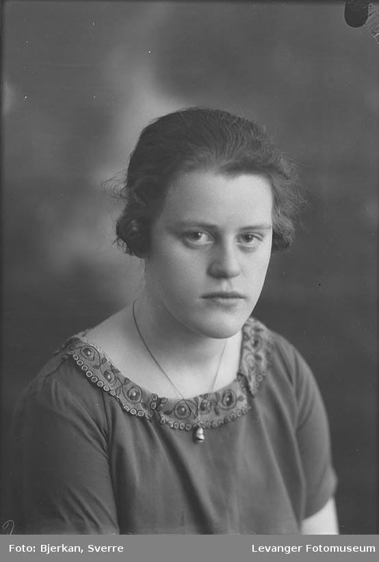 Portrett av Ingrid Eriksen
