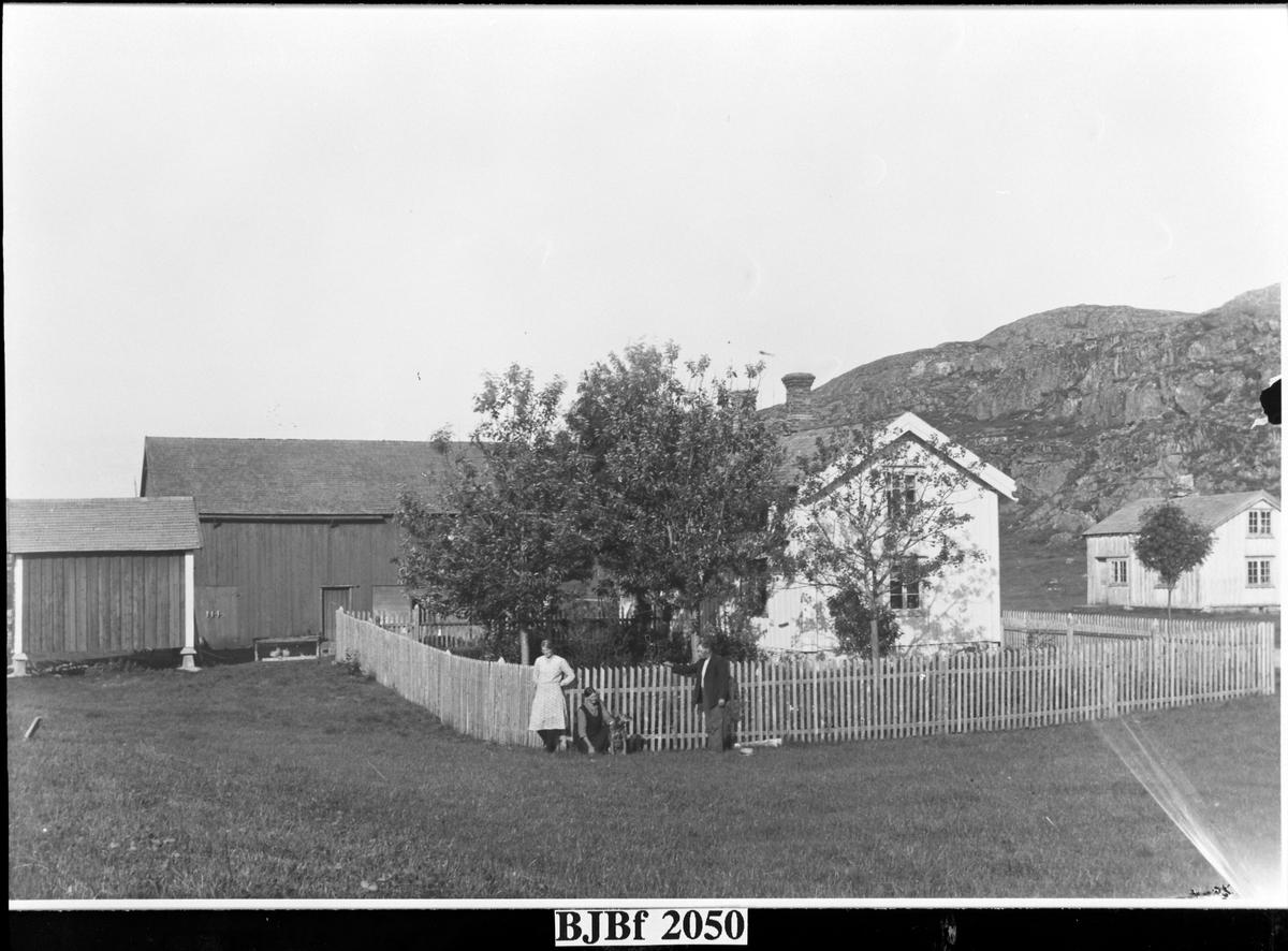 Gården Eidet, Jøssund, Vallersund, Bjugn