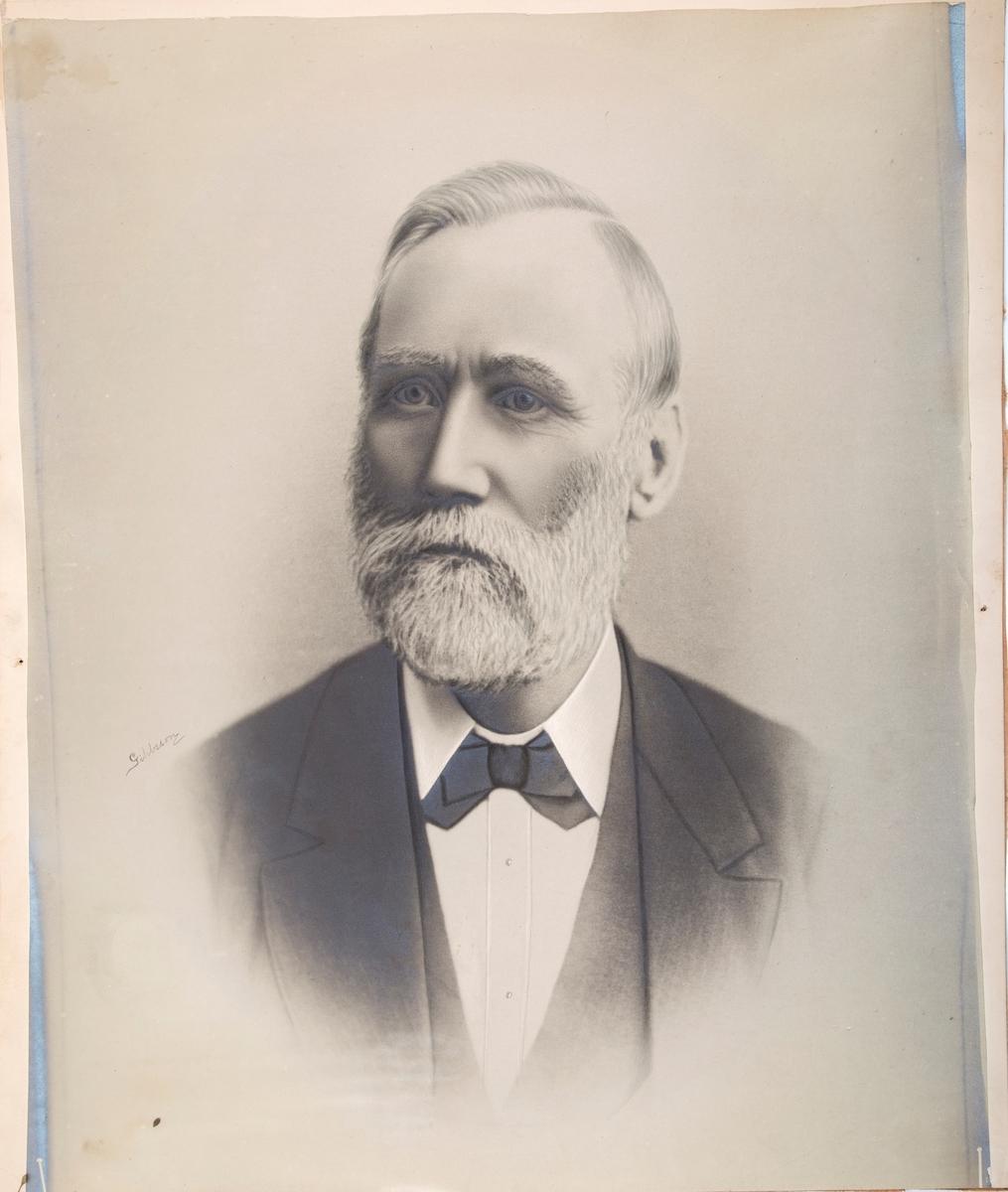 Fotografi av Roald Amundsens far.