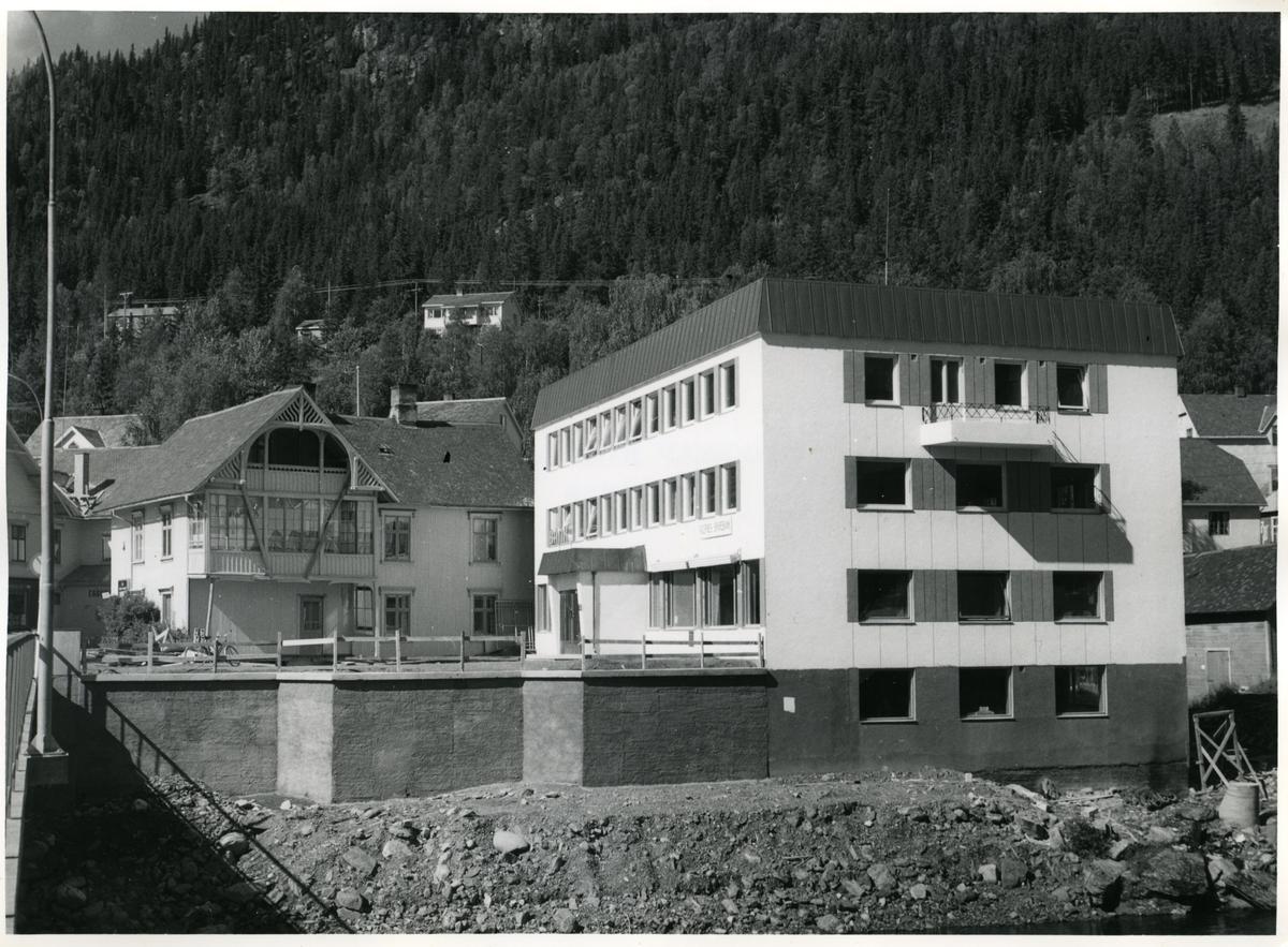"""""""Gamle banken"""" på Fagernes."""