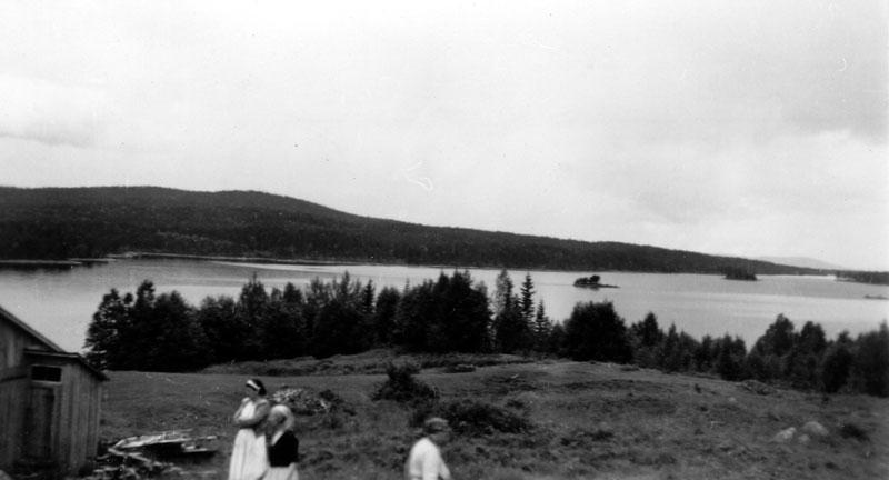 Ellen Finnson, Olga och Agnes Åsby.