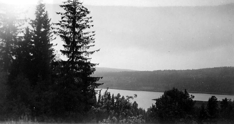 Utsikt över Nordviggsjön från Nitahå, Nyskoga