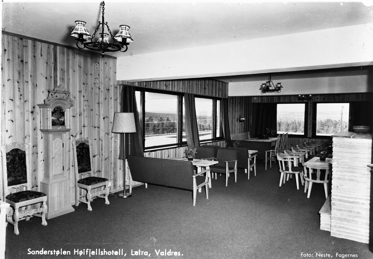 Sanderstølen høyfjellshotell, Valdres.