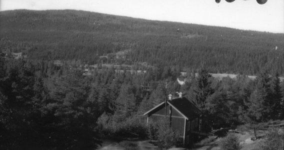 Utsikt från berg.