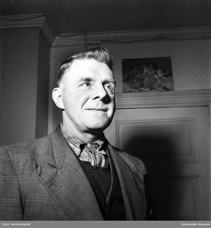 Herr Olov Widholm, Östermalm, Sundsvall.