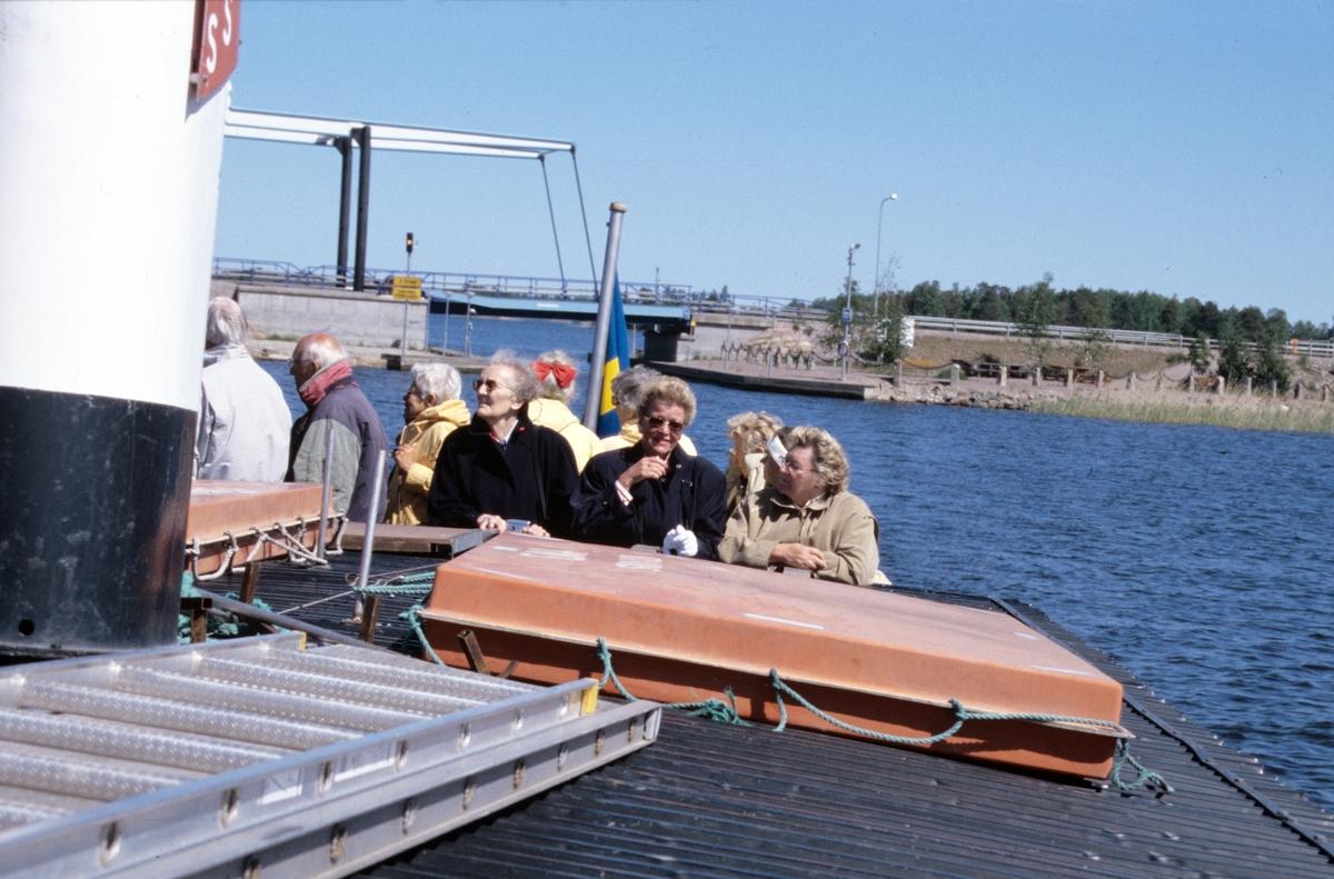 Storsjön med båten Emma