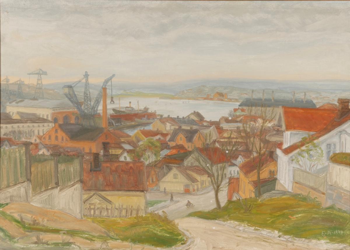 Mulig utsikt fra St. Hans fjellet.