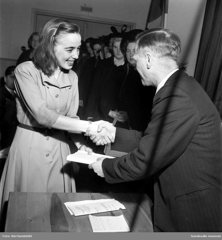 Greta Näslund vann talangparaden 1949 i Folkets park.