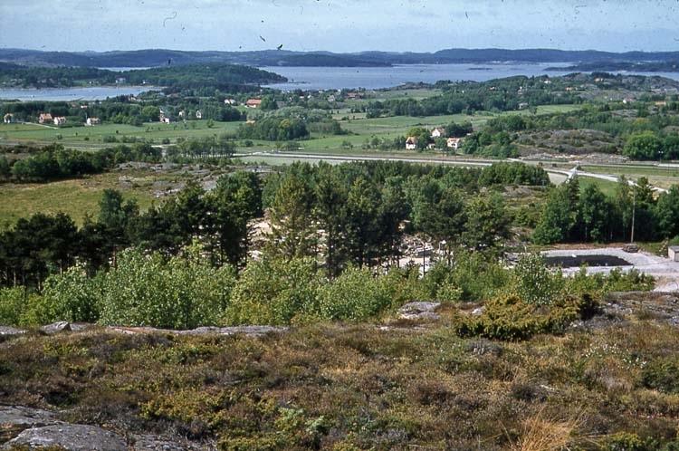 1961 juli. Esso-området före röjning.