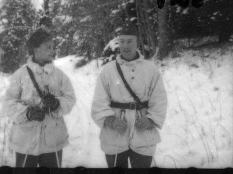 Perfors, fänrik och Kohlstedt, sergeant, A 6. Batteri Ekman.