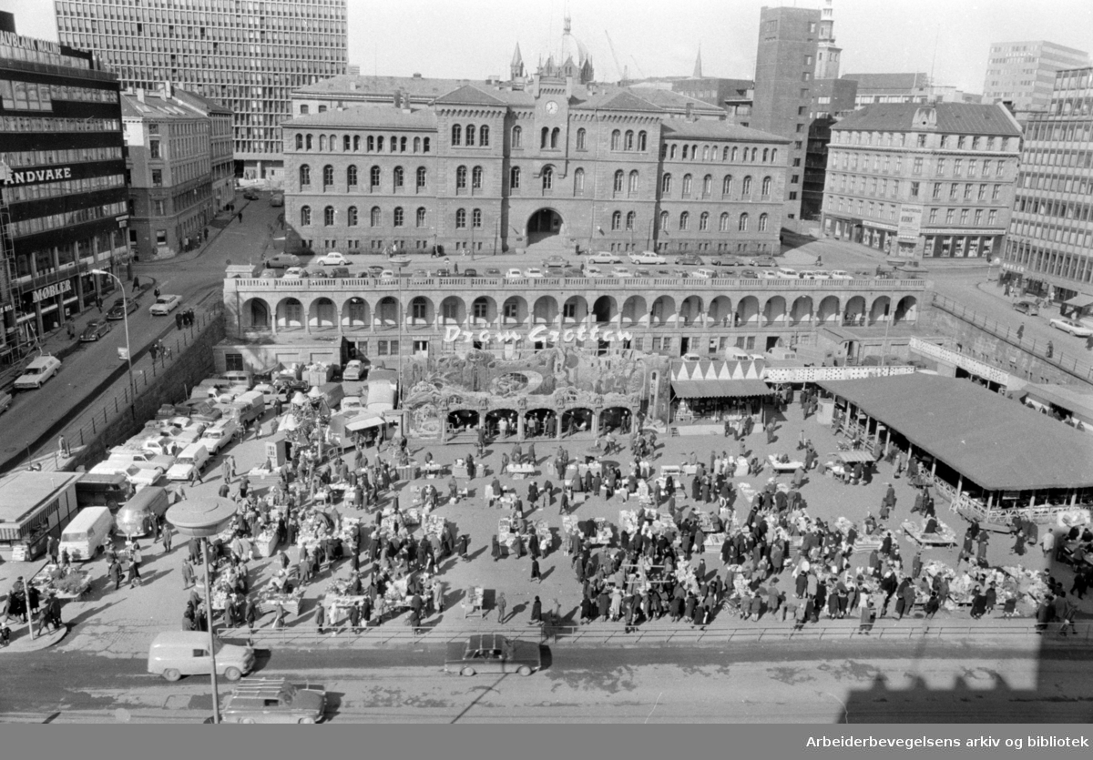 Youngstorget. Mars 1969